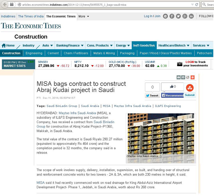 India's fastest growing Infrastructure Company